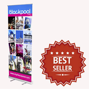 Standard Roller Banners are our best low cost display solution