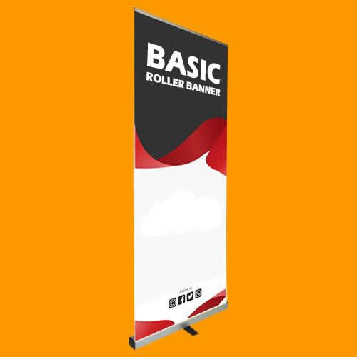 The Basic Roller Banner - 80cm wide