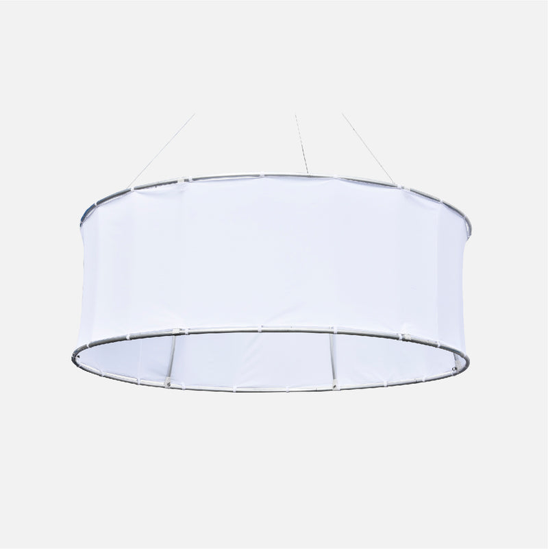 Circular Hanging Ceiling Display