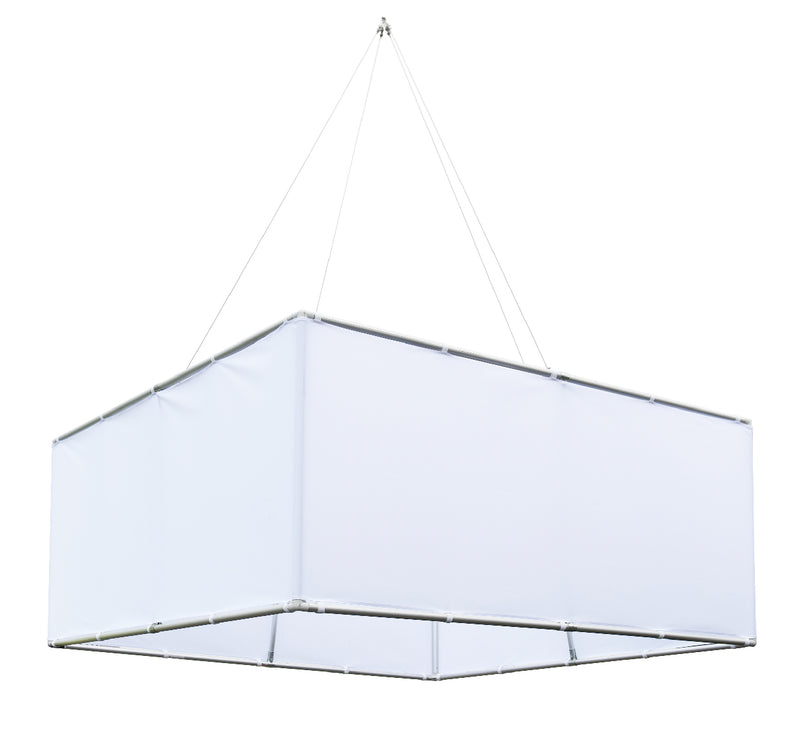 Square Hanging Ceiling Display