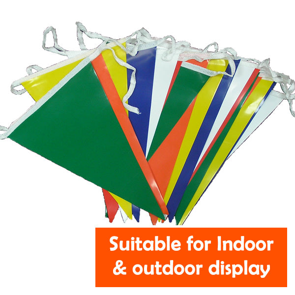 Custom colour PVC Bunting