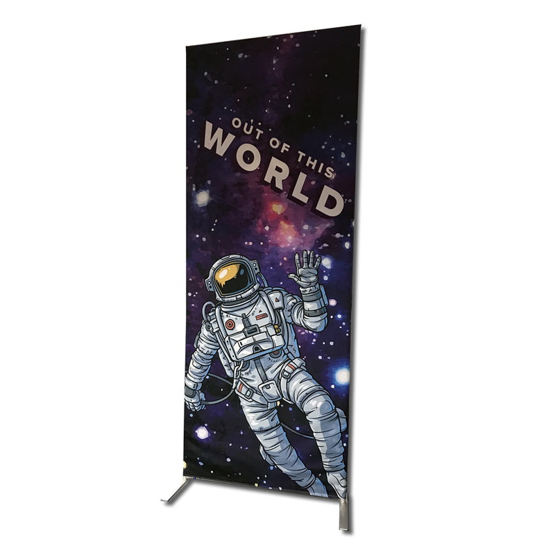 Lightweight Tube Banner Frame 85cm wide