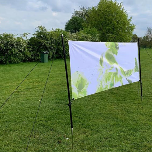 Outdoor Tension Banner Frame