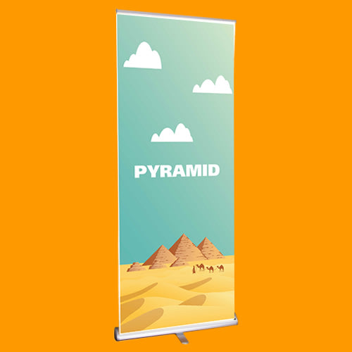 Pyramid Roller Banner