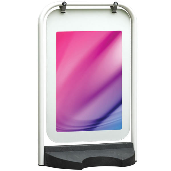 Switch Swing Sign - white frame (no posters)