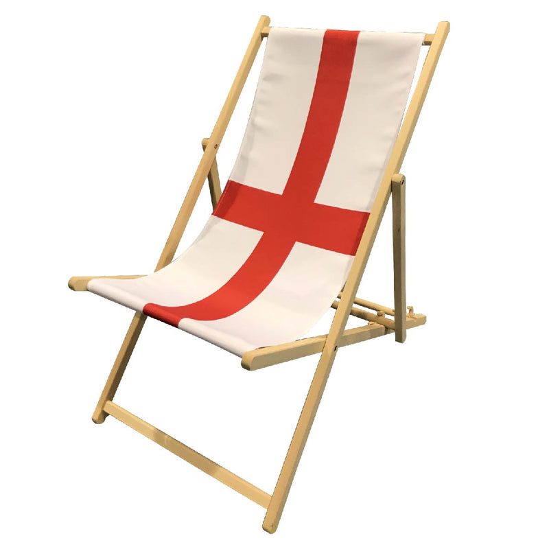 St George Flag Deckchair