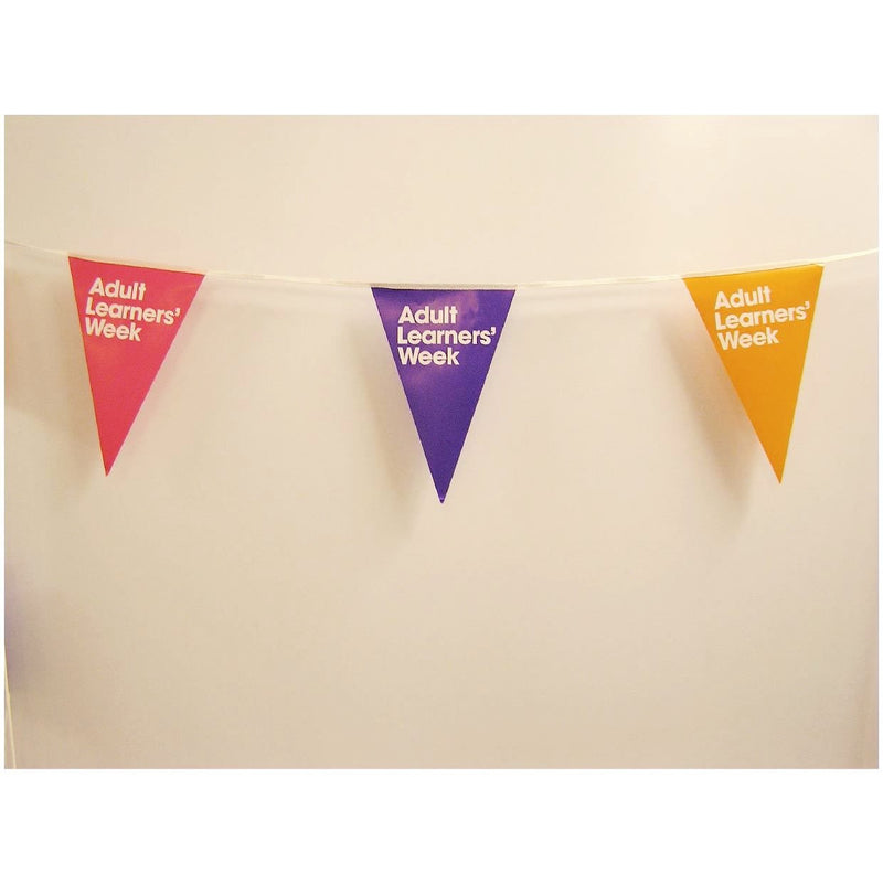 A4 Triangular Synthetic Bunting Printed with your design