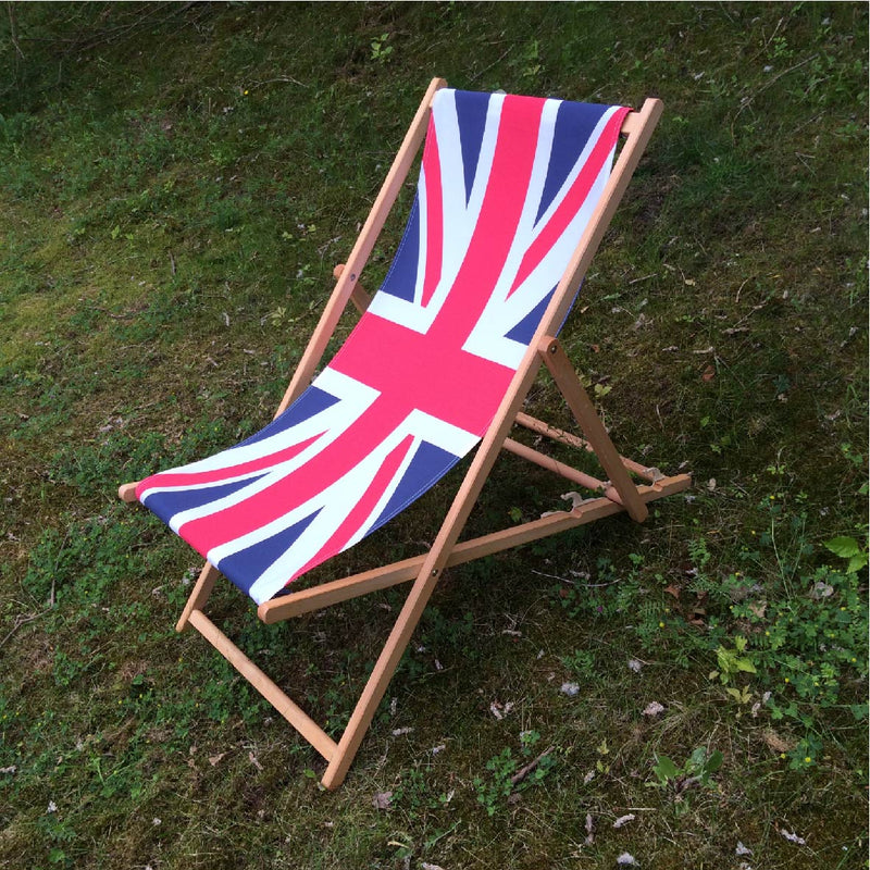 Union Flag Deckchair