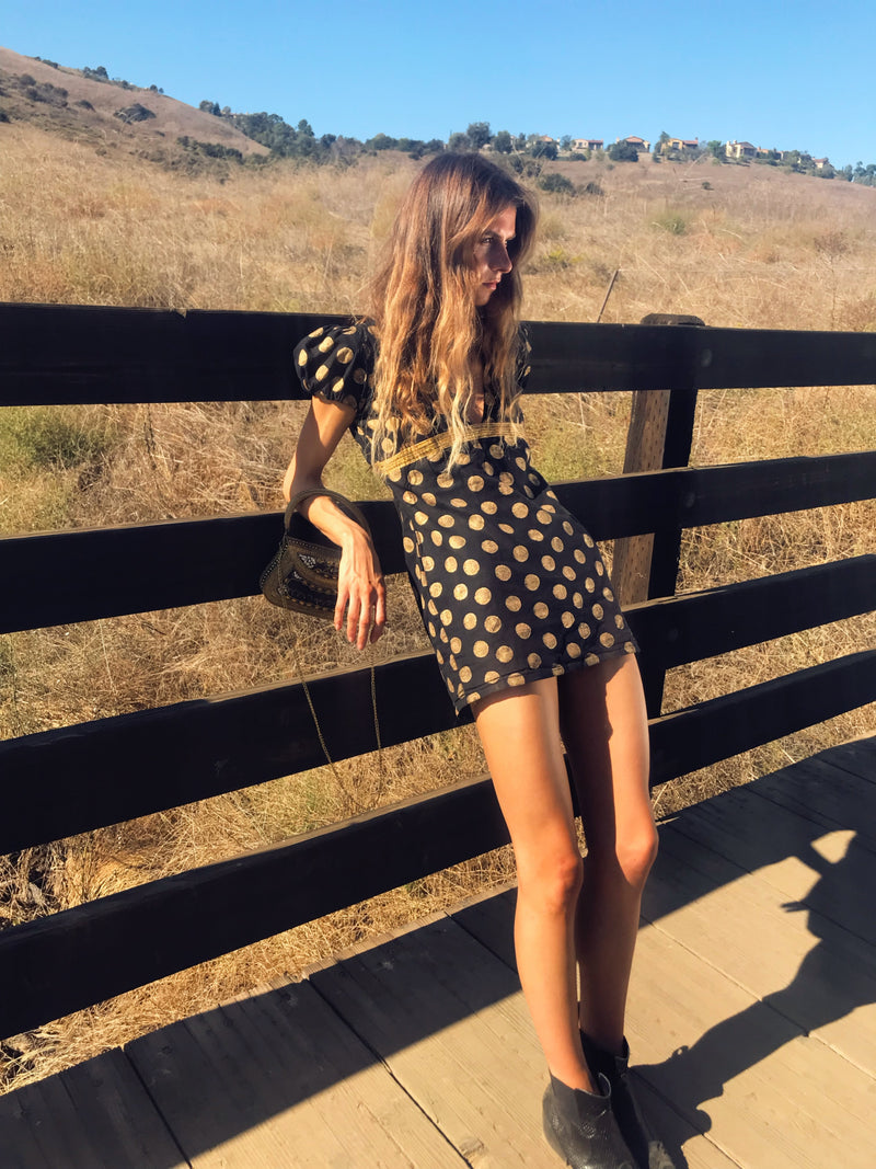 The Ethical Party Dress: Polka Dot Uprising
