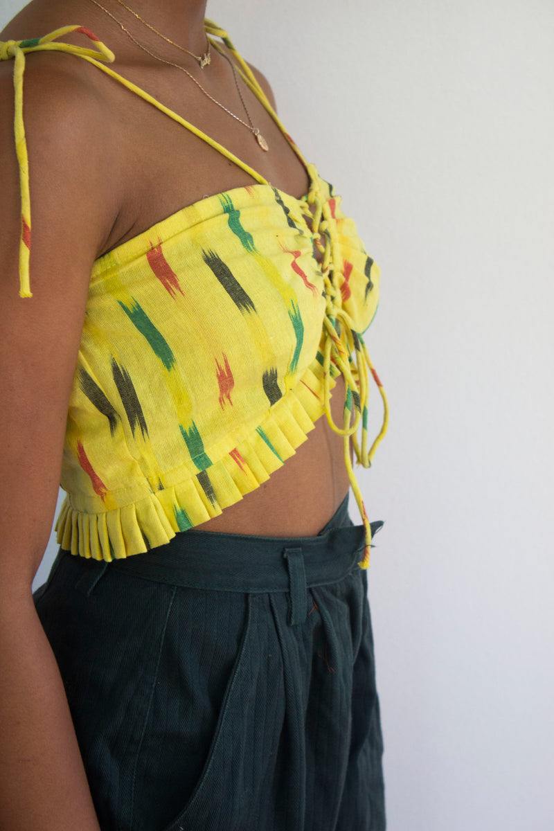 The Yellow Butterfly Top