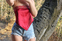 "THE BANNI BANDANA TOP IN ""CANYON"".-hutmentality"