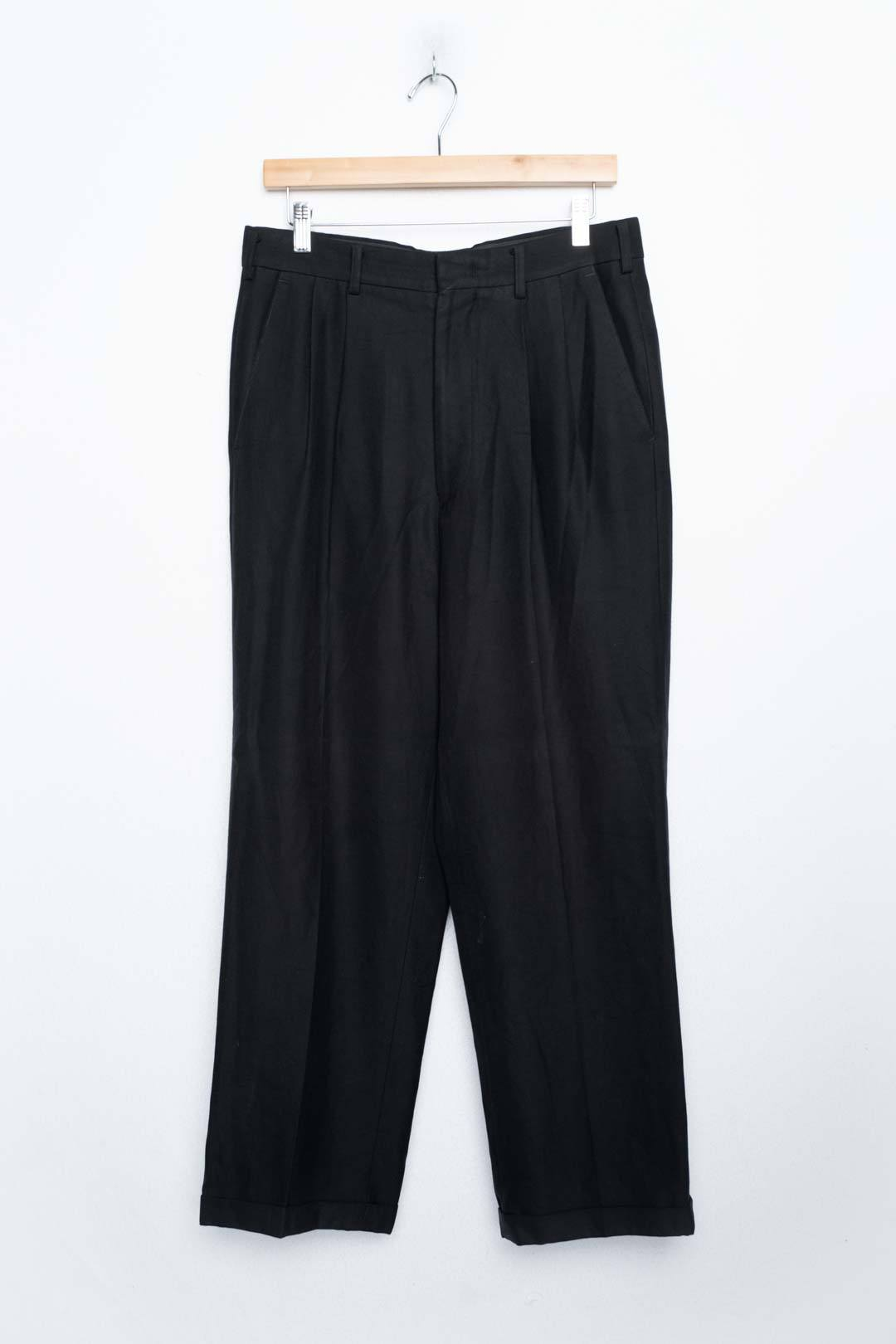 Black Chino Trousers - VinoKilo.com
