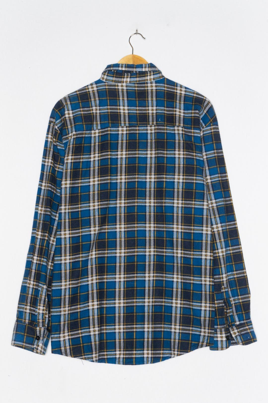 Blue Flannel Shirt XL - VinoKilo.com