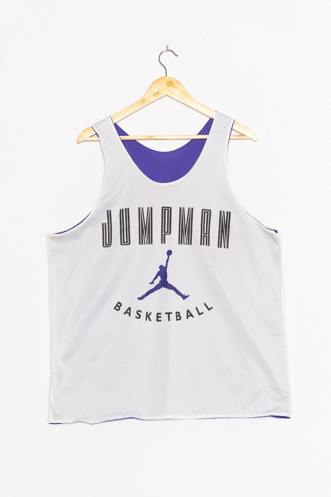 White Purple NBA Jersey M - VinoKilo.com