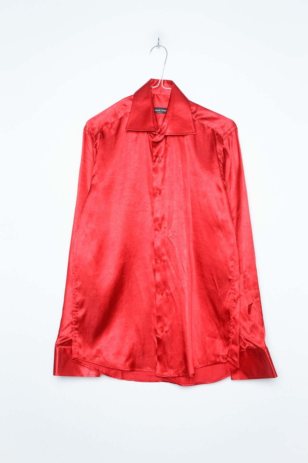 Red Lady Blouse Long Sleeve L - VinoKilo.com