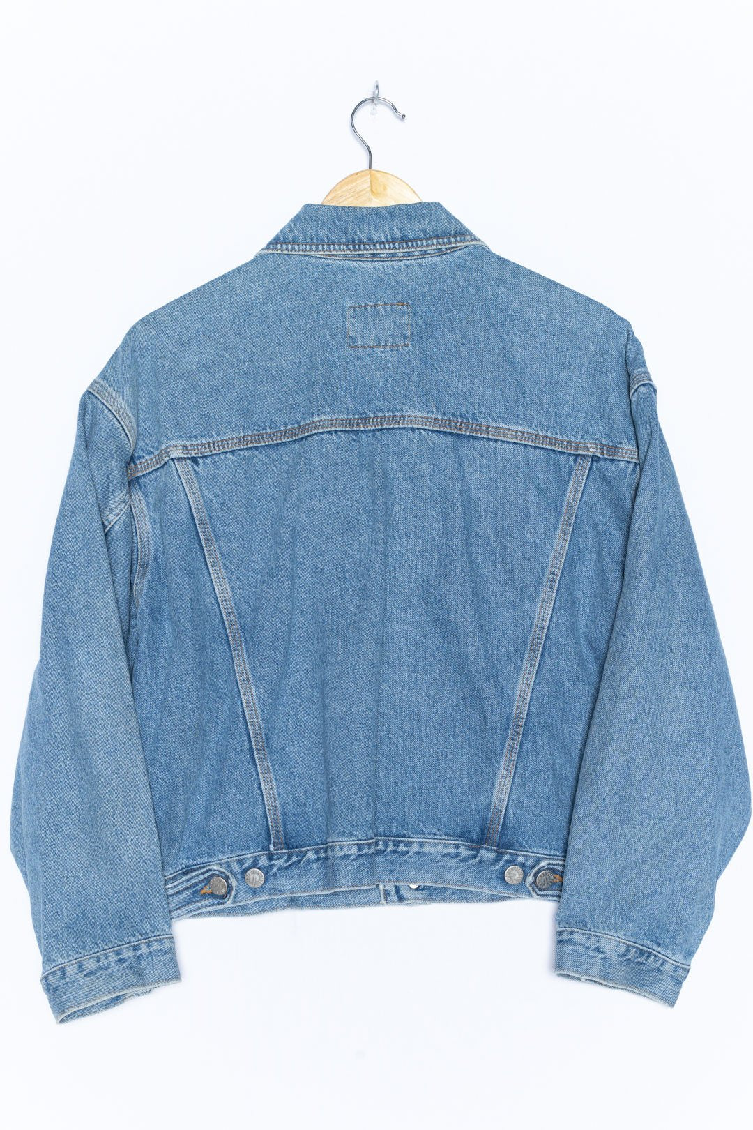 Light Blue Denim Jacket S - VinoKilo.com