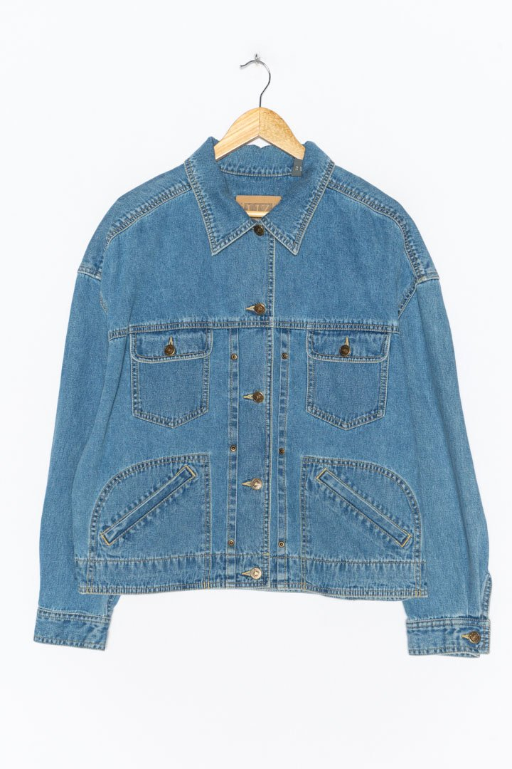 Blue Denim Jacket L - VinoKilo.com