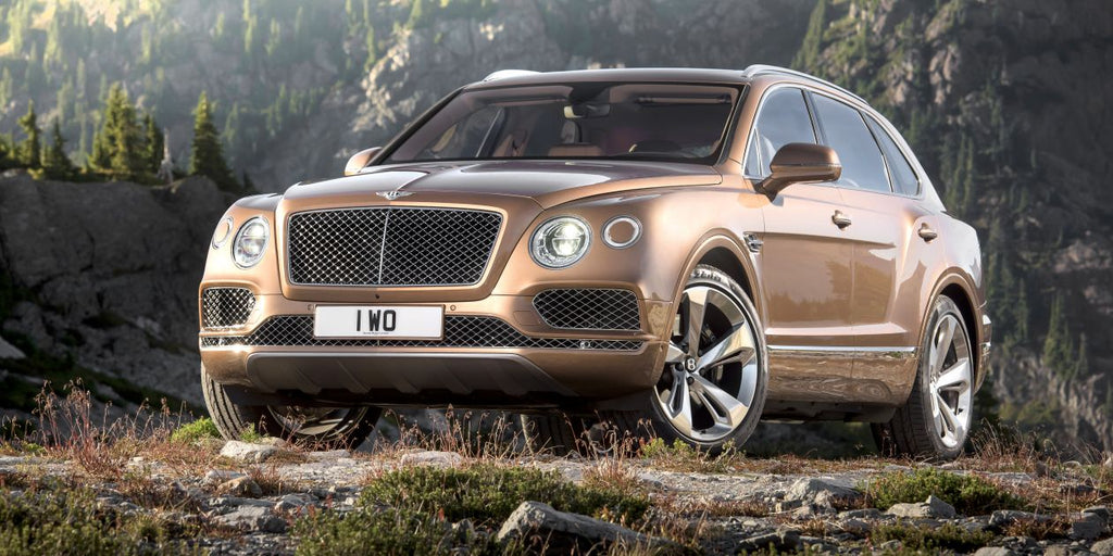 The new Bentley Bentayga: the fastest SUV in the world