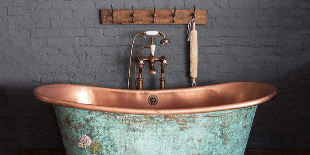 The most luxurious Victorian style metal baths