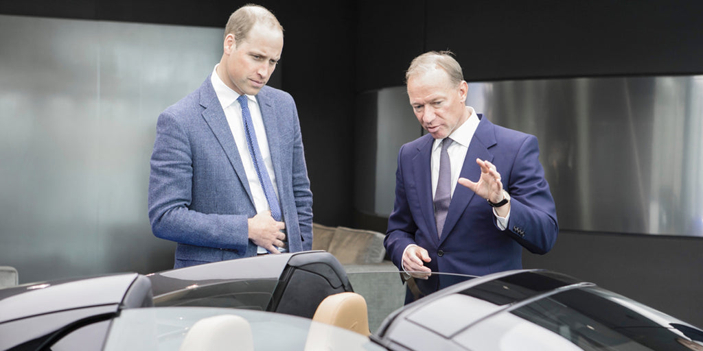 HRH The Duke of Cambridge tours McLaren