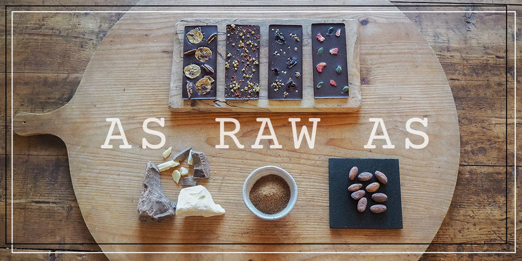 British Raw Chocolate As Raw As
