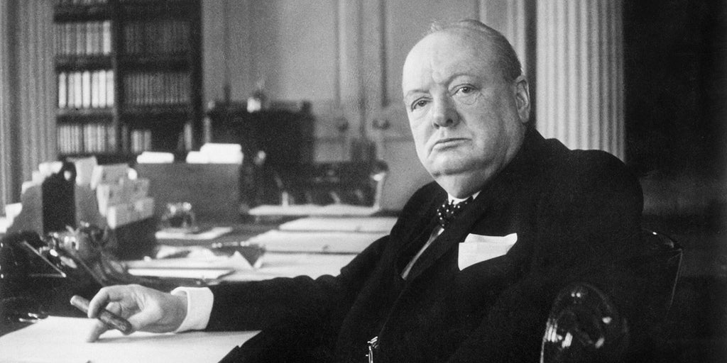 Mapping the disciplined image of Winston Churchill