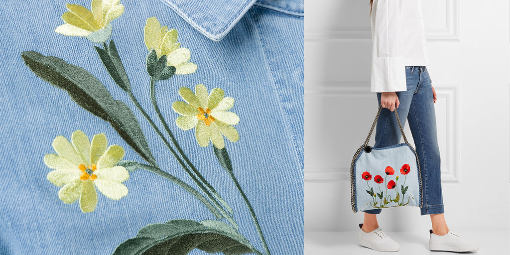 The best of embroidered denim