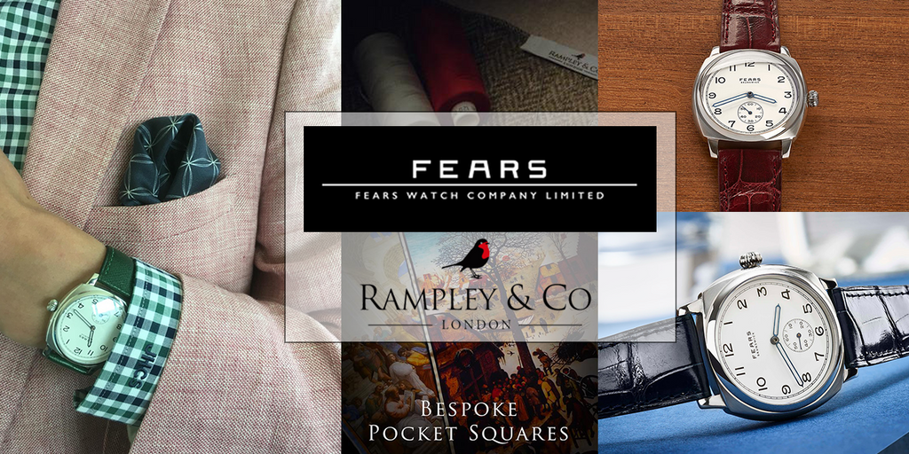 Fears Watches and Rampley & Co - When unique craftsmanship unite