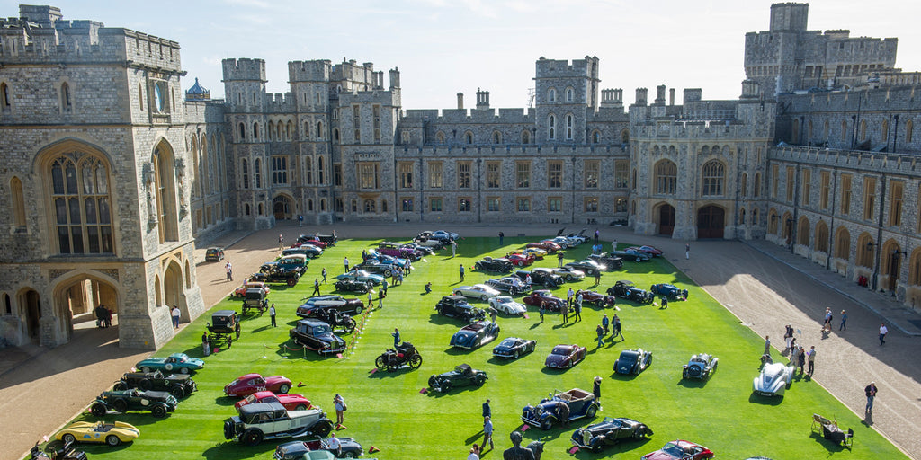 The Concours of Elegance at Windsor Castle