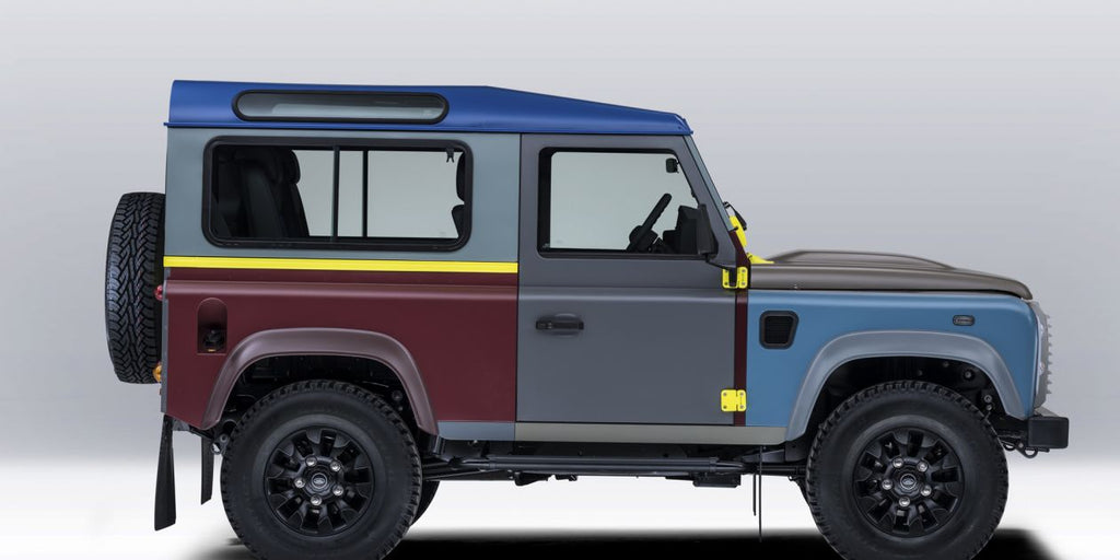 Paul Smith designs bespoke Land Rover Defender