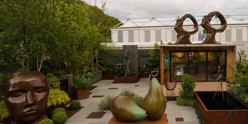 Sculpture by the Lakes exhibits at Chelsea Flower Show