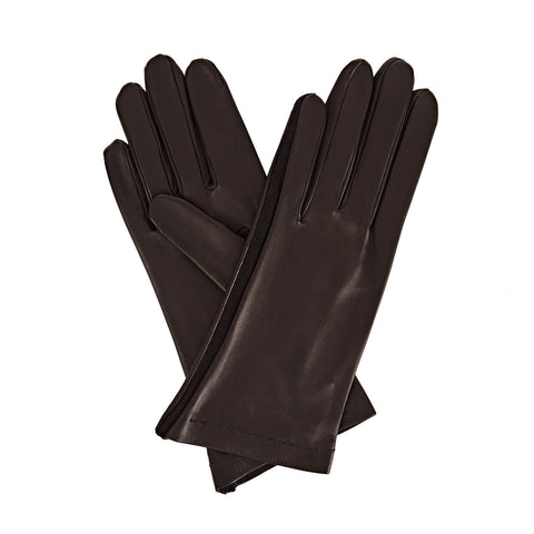 Arabella Women's Leather Gloves in Black