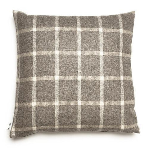 Luxury Slate Tweed Cushion  - Mutts and Hounds