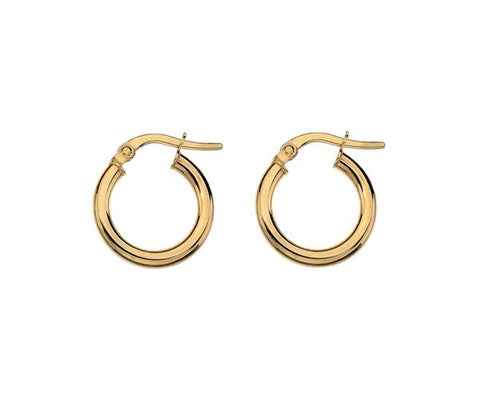 MINKA GEMS  Gold Hoops Small