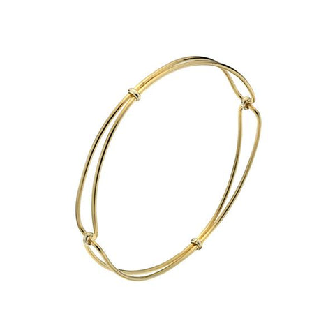 MINKA GEMS  Golden Whisper Bangle