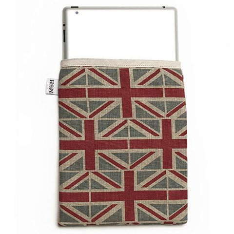 Luxury Union Jack iPad Sleeve  - Mutts and Hounds