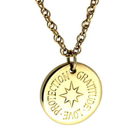 MINKA GEMS  Gold Protection Charm