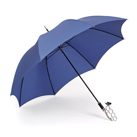 Nirvana Long Umbrella in Ala Blue