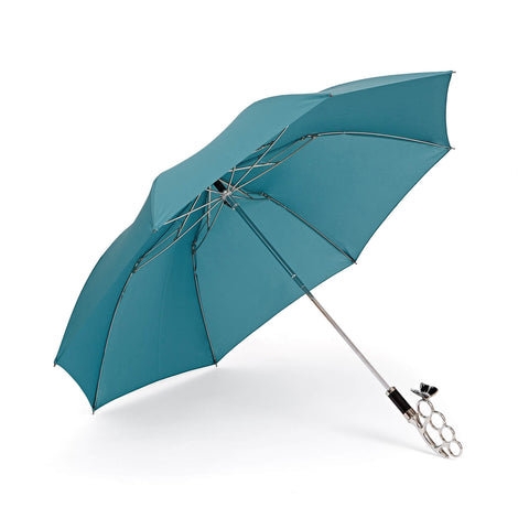 Nirvana Compact Umbrella in Turquoise