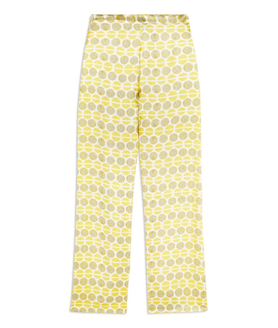 Ditsy Lacewing Silk Pyjama Trousers