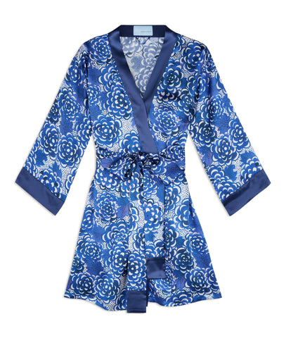 Lotus Silk Robe