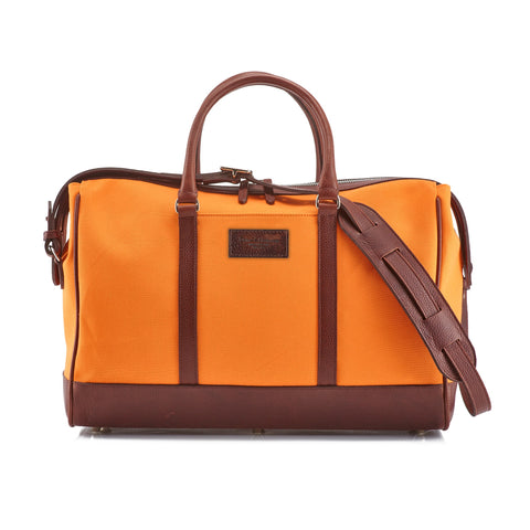 Daines & Hathaway Overnight Bag Canvas Orange