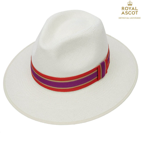 f44a43167fb99 Christys  London Harper Superfine Down Brim Panama Hat With Queen Silk Band
