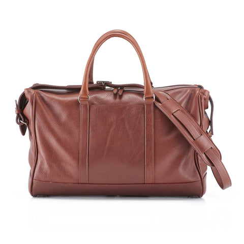 Daines & Hathaway Overnight Bag Finsbury Caramelo