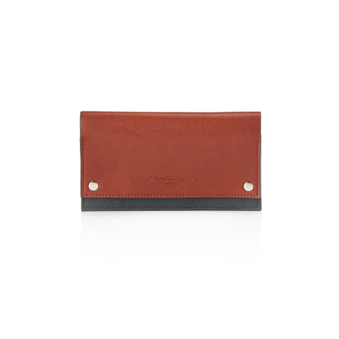Daines & Hathaway Modern Travel Wallet Caramelo