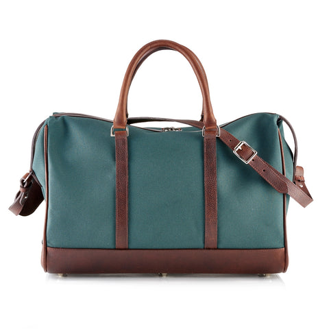 Daines & Hathaway Overnight Bag Canvas Green