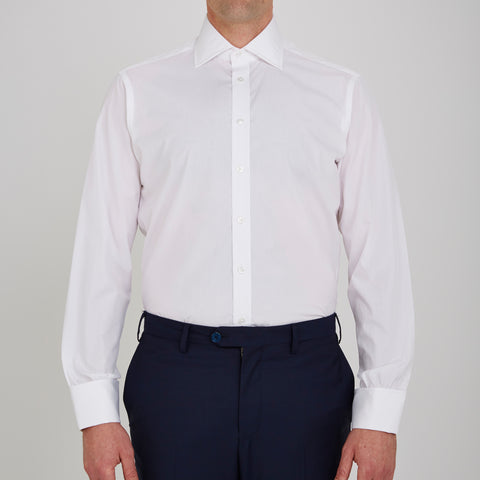 The Dr No White Cotton Shirt as seen on James Bond