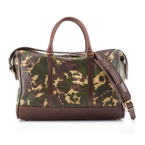 Daines & Hathaway Overnight Bag Camo Sherwood