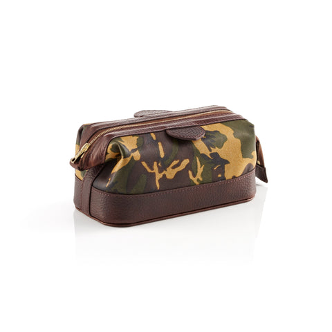 Daines & Hathaway Small Wash Kit Camo Sherwood