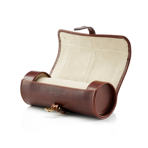 Daines & Hathaway Travel Watch Roll Brooklyn Chestnut